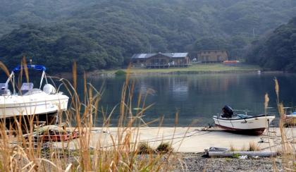 井持浦の船