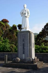 聖ヨハネ五島の像